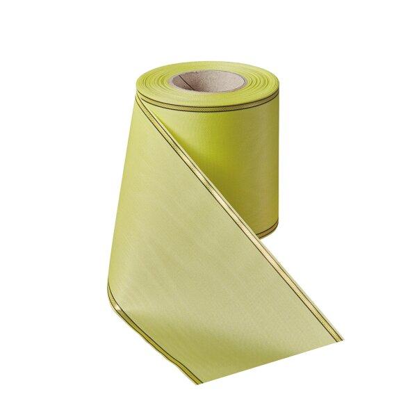 Moiré maigrün 150mm / 25m schmaler Rand