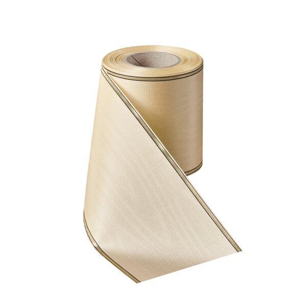 Moiré weizen 150mm / 25m schmaler Rand