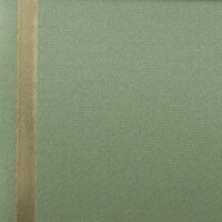 Supersatin hellgrün 075mm / 25m Strichrand gold