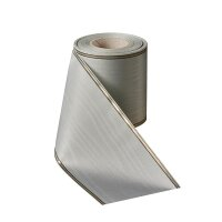 Moire opalgrau 175mm/25m schmaler Rand