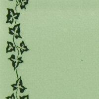 Supersatin limonengrün 100mm / 25m Efeurand schwarz