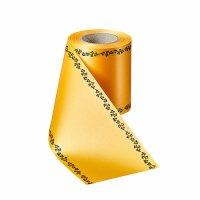 Supersatin freesia 200mm / 25m Efeurand schwarz