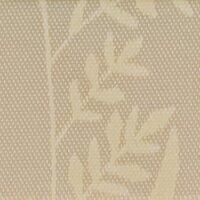 Supersatin Allover beige 150mm / 25m Gräser