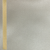 Thermosatin sand 75mm / 25m Strichrand gold