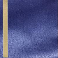 Thermosatin marine 125mm / 25m Strichrand gold