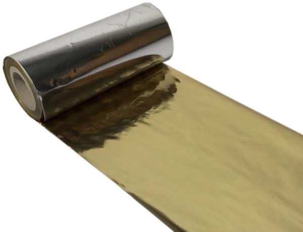 Thermotransferfolie gold metallic 100mm / 100m