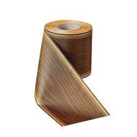 Moiré mandel 125mm / 25m breiter Rand