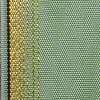 Moiré mistelgrün 150mm / 25m breiter Rand