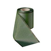 Moiré mistelgrün 75mm / 25m schmaler Rand