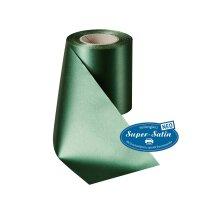 SuperSatin NEO flaschengrün 100mm / 25 m ohne Rand