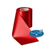 SuperSatin NEO rot 125mm / 25 m ohne Rand