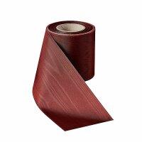 Moiré rubinrot 75mm / 25m ohne Rand