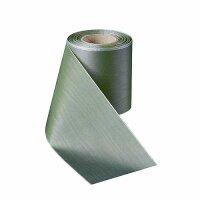 Moiré mistelgrün 100mm / 25m ohne Rand
