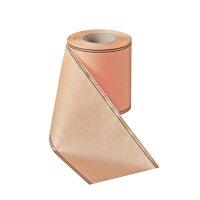 Moiré flachs 100 mm / 25 m schmaler Rand