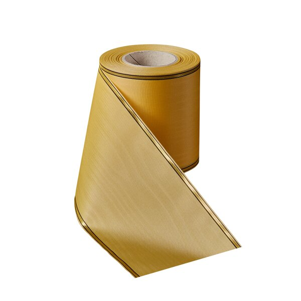 Moiré honig 125mm / 25m schmaler Rand