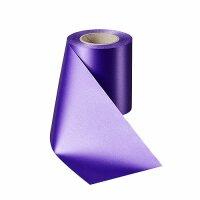 Supersatin lila 150mm / 25m ohne Rand