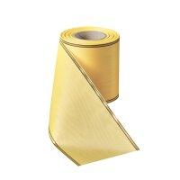 Moiré löwenmaul 125mm / 25m schmaler Rand