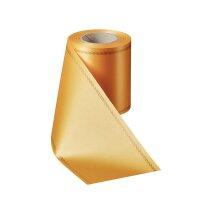 Supersatin freesia 075mm / 25m mit Z-Rand gold