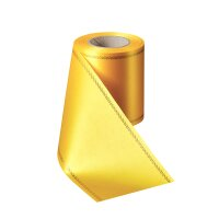 Supersatin gelb 075mm / 25m Z-Rand gold