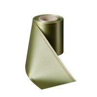 Supersatin hellgrün 075mm / 25m Z-Rand gold