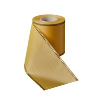 Moiré honig 150mm / 25m schmaler Rand