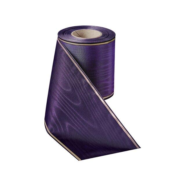 Moiré violett 150mm / 25m schmaler Rand